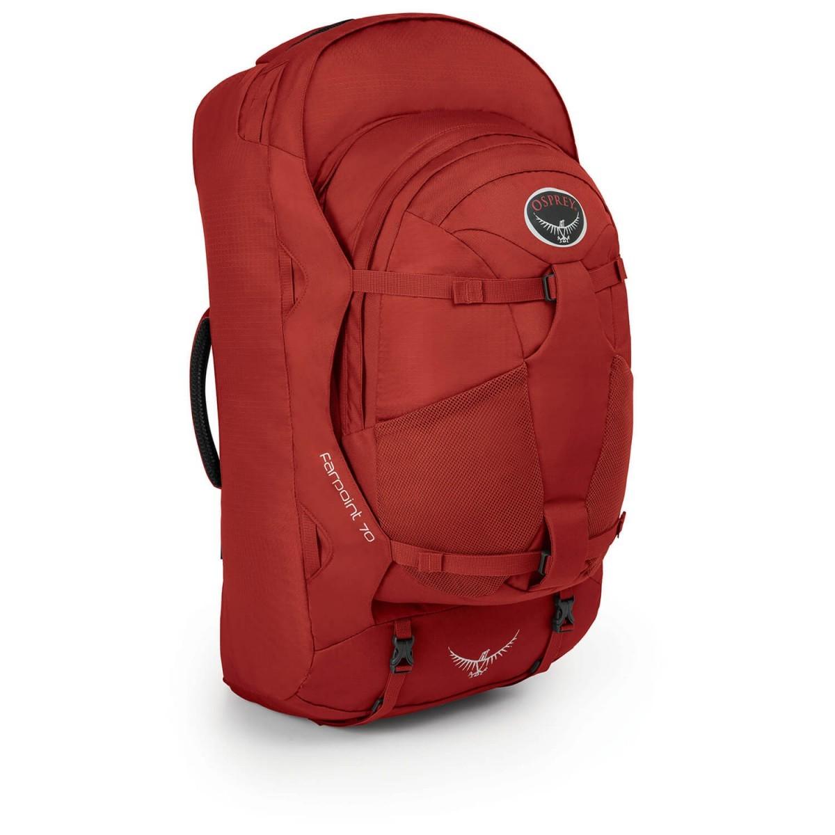 オスプレー ファーポイント 70 Farpoint 70 (Jasper Red)★リュック・バックパック・登山・山歩・トレッキング★