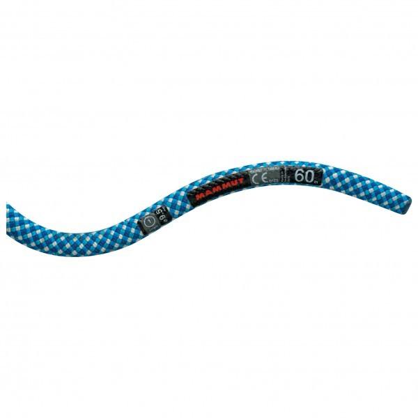 マムート 9.5 Infinity Classic (60m - Royal / White)★ロープ・ザイル・登山・クライミング★