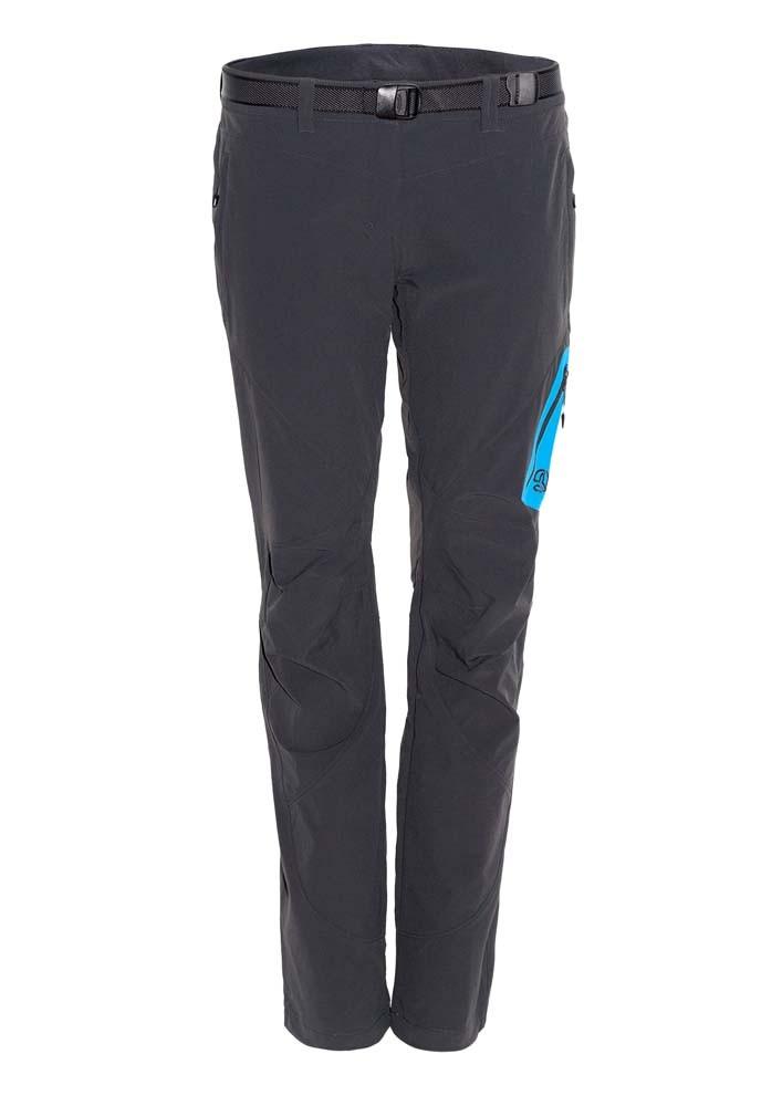 [テルヌア]Latok Pants ソフトシェルパンツ レディース(Whales Grey / Sea Blue)