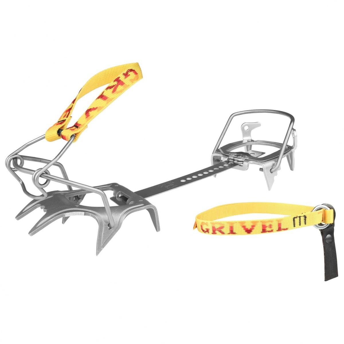 GRIVEL グリベル Ski Race Skimatic 2.0 with Crampon Safe S(Yellow / Silver)★ウインターギア・アイゼン・クランポン・雪山装備★