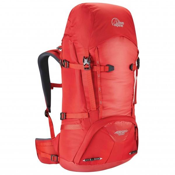 ロウアルパイン Mountain Ascent 40+10(Haute Red)★リュック・バックパック・登山・山歩・トレッキング★