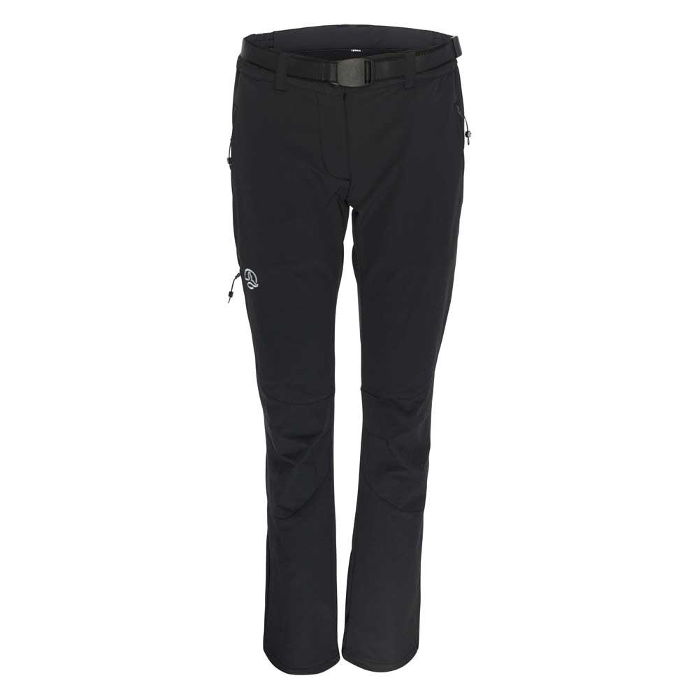 [テルヌア]Septent Pants ソフトシェルパンツ レディース(Black)