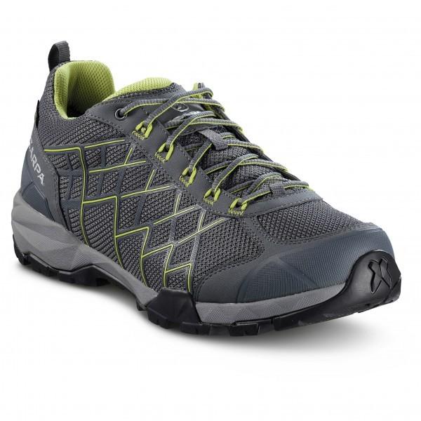 スカルパ Hydrogen GTX(Irongray / Green Leaf)★アプローチシューズ・山歩き・アウトドアシューズ・靴・登山★