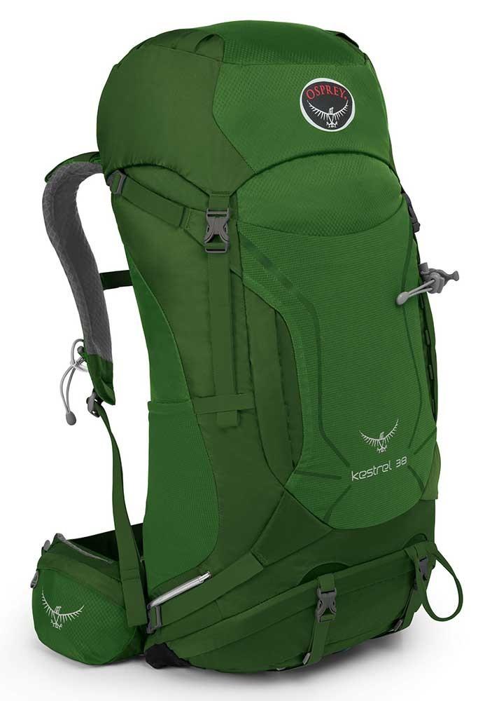 オスプレー ケストレル 38 (Jungle Green)★リュック・バックパック・登山・山歩・トレッキング★