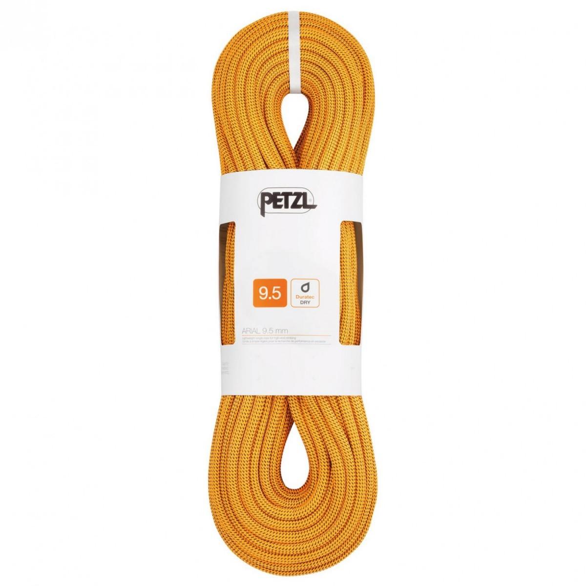 PETZL ペツル Arial 9.5(60m - Gold)★ロープ・ザイル・登山・クライミング★