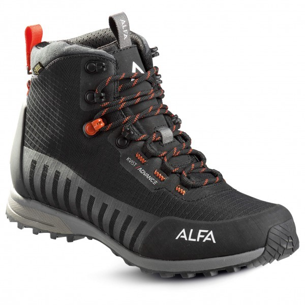 アルファ クナウス アドバンス GTX(Black / Orange)★アプローチシューズ・山歩き・アウトドアシューズ・靴・登山★