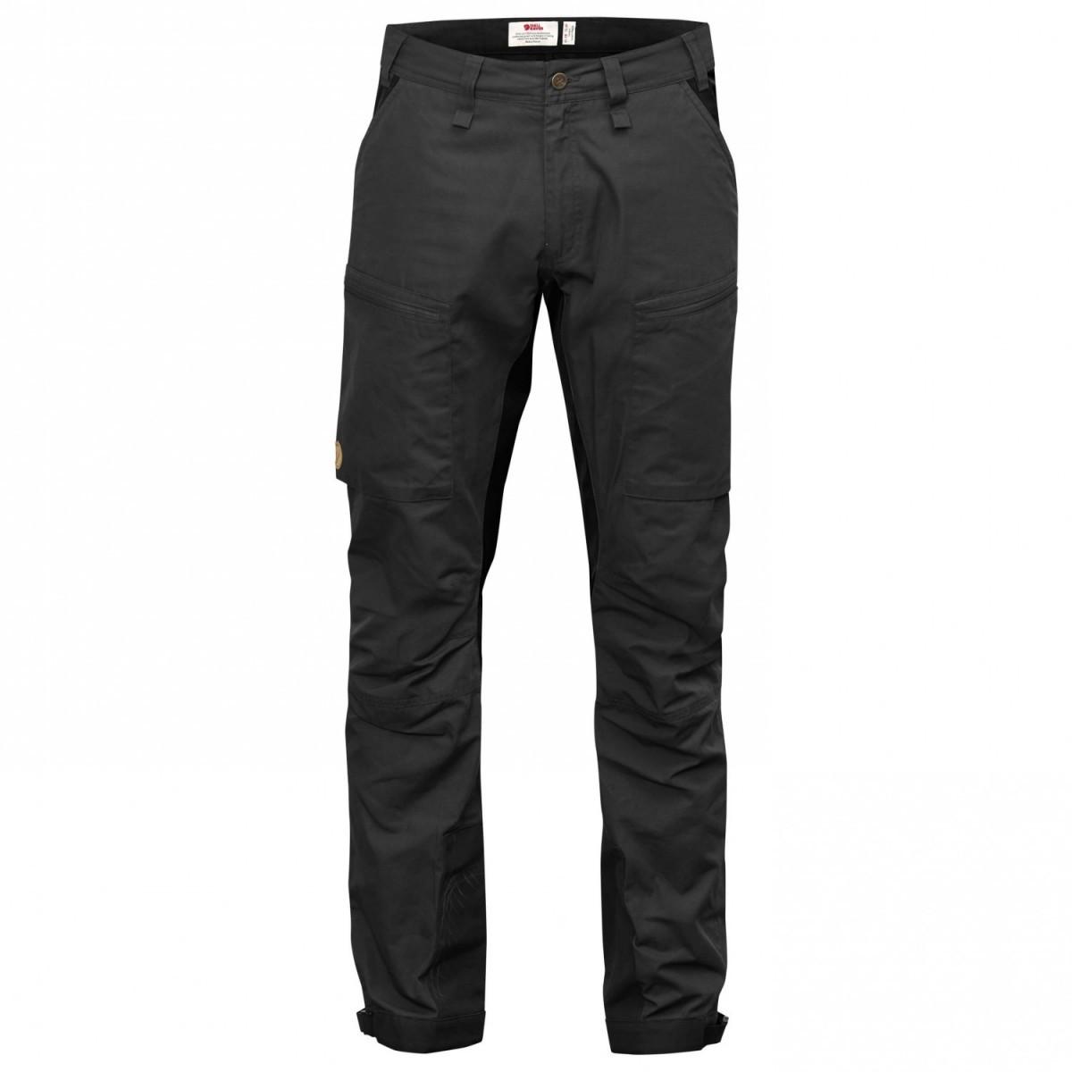 FJALLRAVEN フェールラーベン Abisko Lite Trekking Trousers パンツ (Dark Grey)