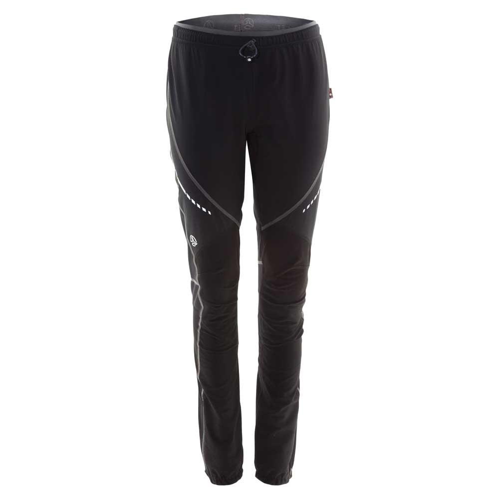 [ テルヌア ] Stowe Pants ソフトシェルパンツ レディース ( Black / Whales Grey )