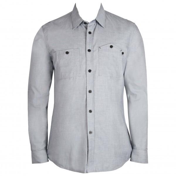 ALCHEMY EQUIPMENT アルケミーエキップメント Cotton L/S Shirt (Natural)