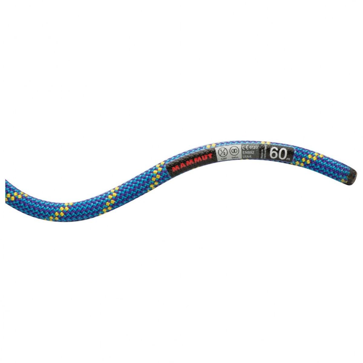 マムート 8.0 Phoenix Dry (50m - Blue)★ロープ・ザイル・登山・クライミング★