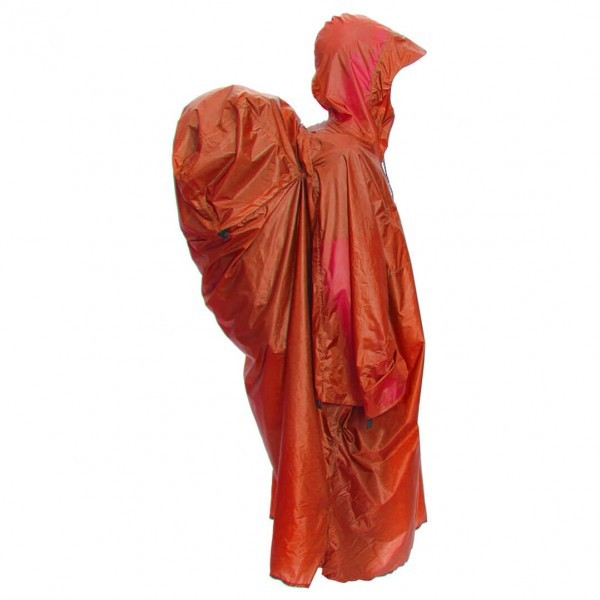 Exped エクスぺド Pack Poncho UL(Terracotta)