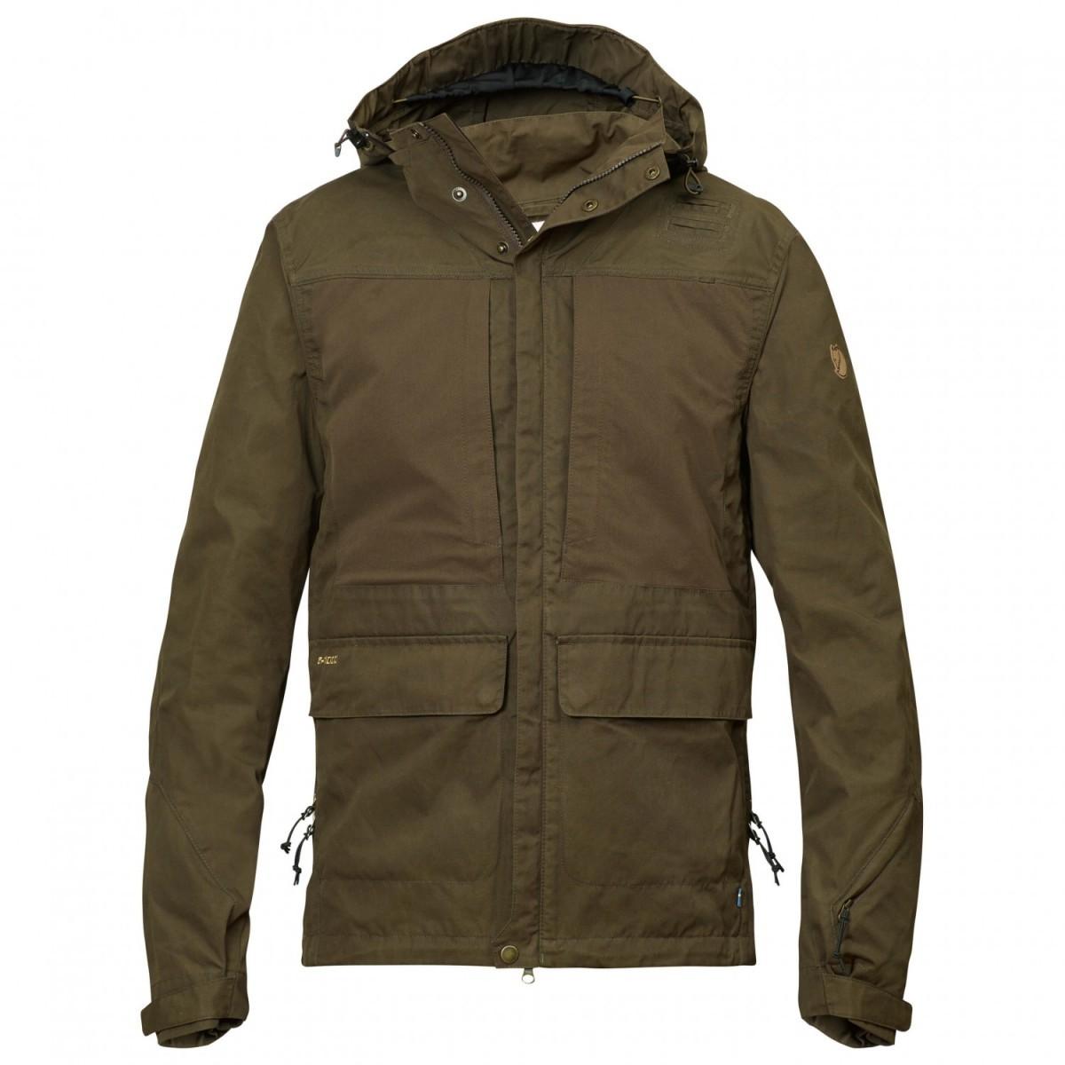FJALLRAVEN フェールラーベン Lappland Hybrid Jacket ジャケット (Dark Olive)