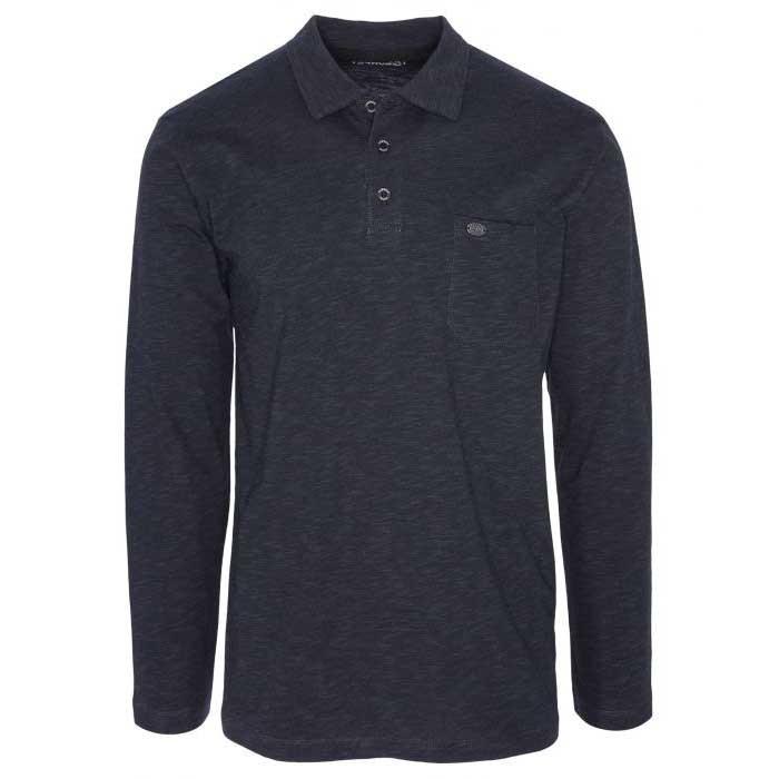 [テルヌア]Polo Erline Long Sleeves カジュアルTシャツ(Whales Grey)