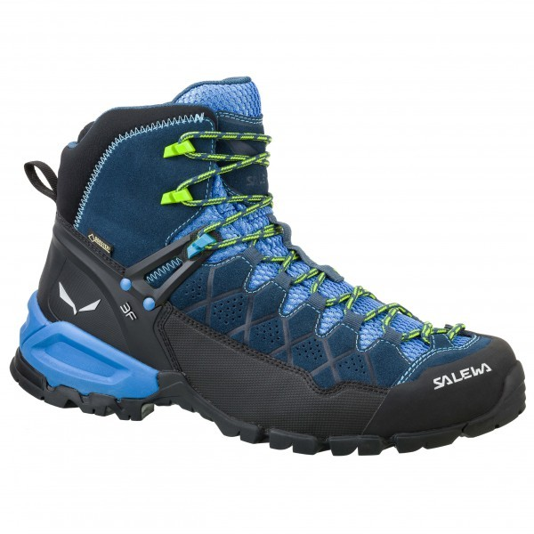 SALEWA サレワ Alp Trainer MID GTX(Dark Denim / Cactus)★登山靴・靴・登山・アウトドアシューズ・山歩き★