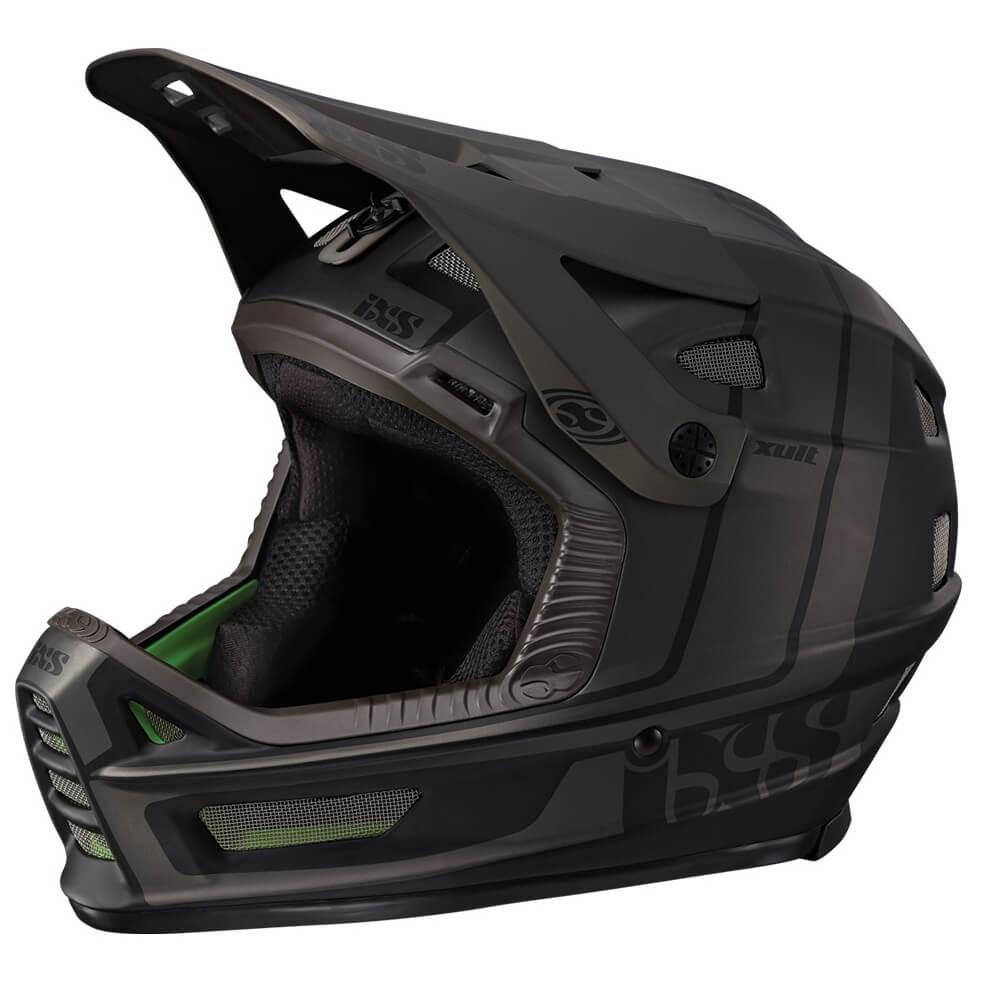 IXS イクス XULT Helmet ( Black / Silver )