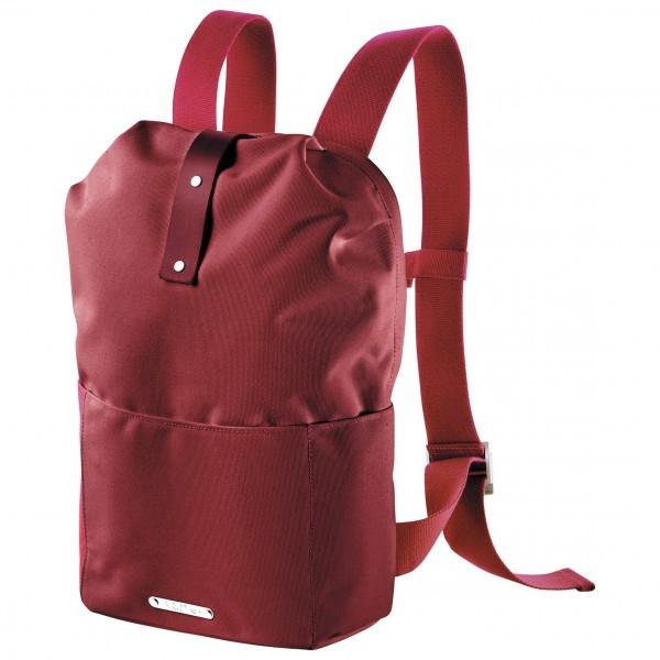 BROOKS ENGLAND ブルックスイングランド Dalston Knapsack Small 12(Red Fleck / Maroon)★リュック・バックパック・登山・山歩・トレッキング★