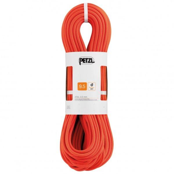 【即納】PETZL ペツル Arial 9.5(60m - Orange)★ロープ・ザイル・登山・クライミング★