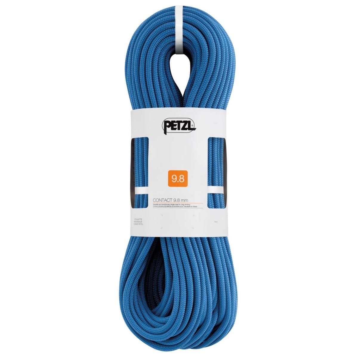 【 即納 】 PETZL ペツル Contact 9.8 ( 60m - Blue ) ★ ロープ ・ ザイル ・ 登山 ・ クライミング ★