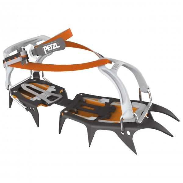 PETZL ペツル Vasak Flexlock(Black / Orange)★ウインターギア・アイゼン・クランポン・雪山装備★