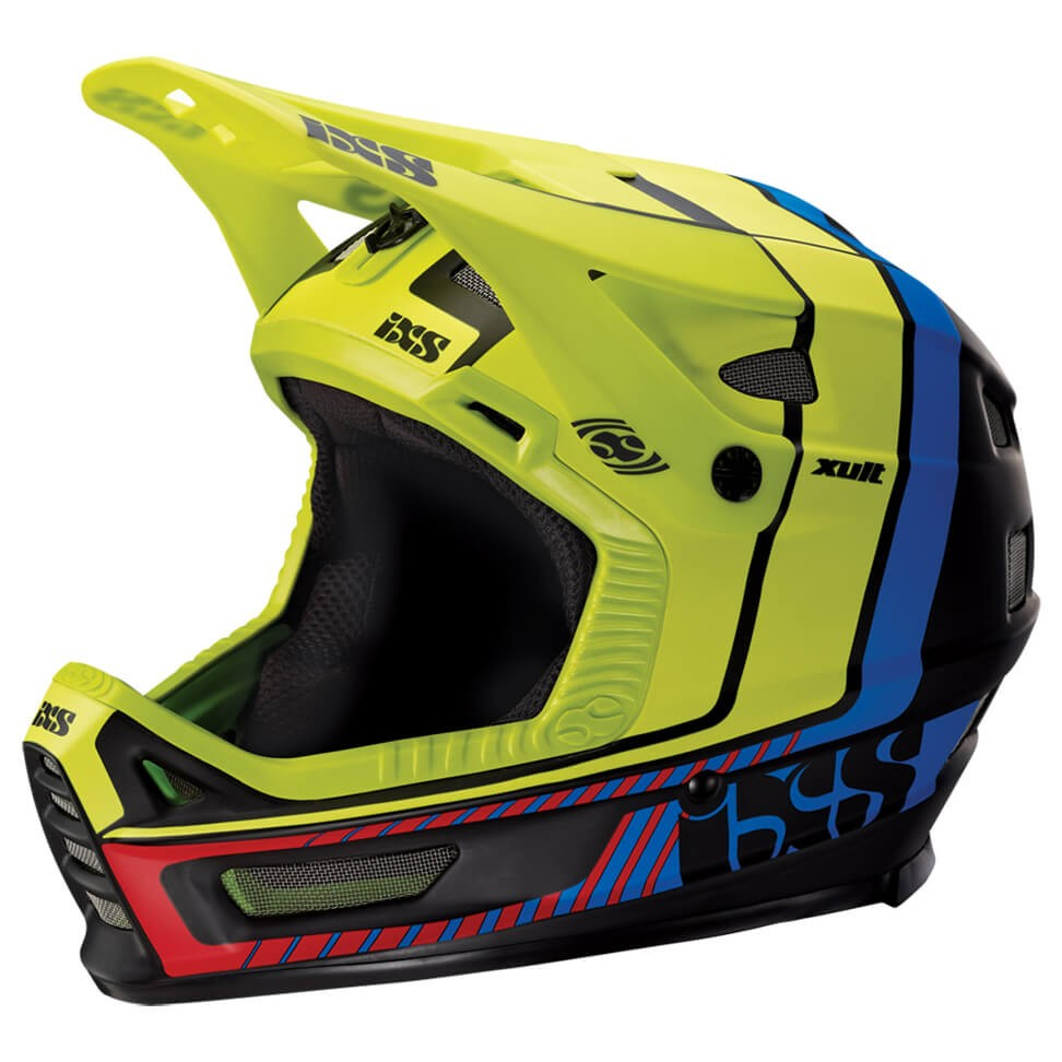 IXS イクス XULT Helmet(Black / Blue / Lime)