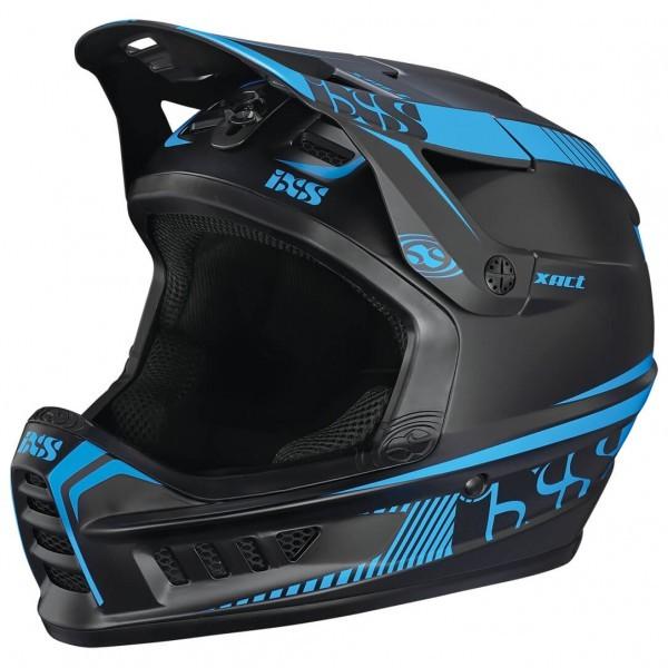 IXS イクス XACT Helmet(Black / Fluor Blue)