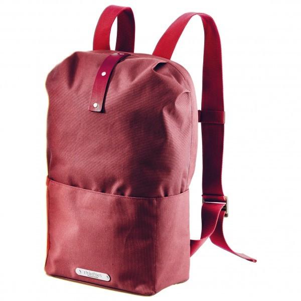 BROOKS ENGLAND ブルックスイングランド Dalston Knapsack Medium 20(Red Fleck / Maroon)★リュック・バックパック・登山・山歩・トレッキング★