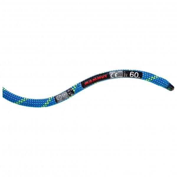 マムート 7.5 Twilight Dry (60m - Neon Blue)★ロープ・ザイル・登山・クライミング★