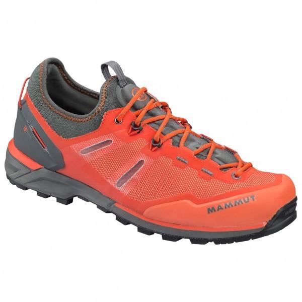 マムート Alnasca Knit Low(Dark Orange / Graphite)★アプローチシューズ・山歩き・アウトドアシューズ・靴・登山★