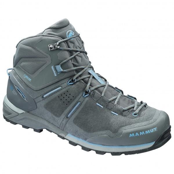 マムート Alnasca Pro Mid GTX(Graphite / Cloud)★登山靴・靴・登山・アウトドアシューズ・山歩き★