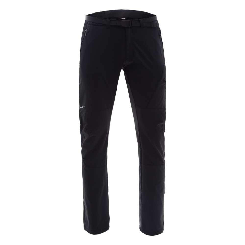 3e5ed27ff3801 Ternua Baggerty Pants [テルヌア]Baggerty Pants ソフトシェルパンツ(Black)