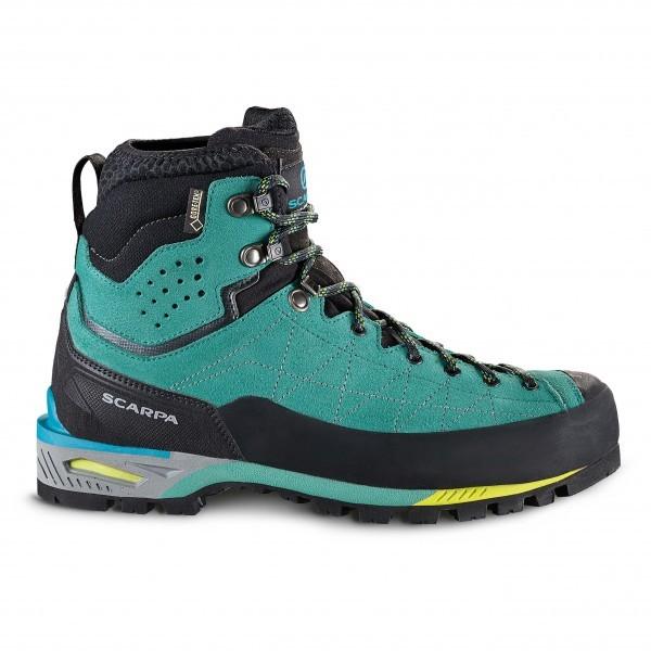 SCARPA スカルパ Zodiac Tech GTX ウーマン ( Green Blue ) ★ 登山靴 ・ 靴 ・ 登山 ・ アウトドアシューズ ・ 山歩き ★