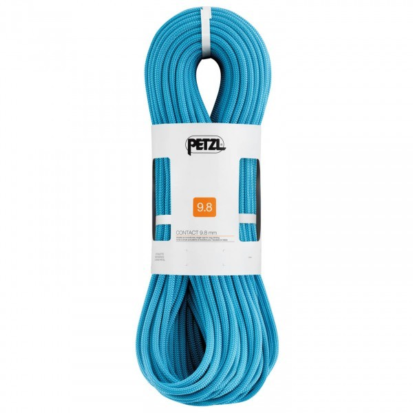 【即納】PETZL ペツル Contact 9.8(70m - Turquoise)★ロープ・ザイル・登山・クライミング★