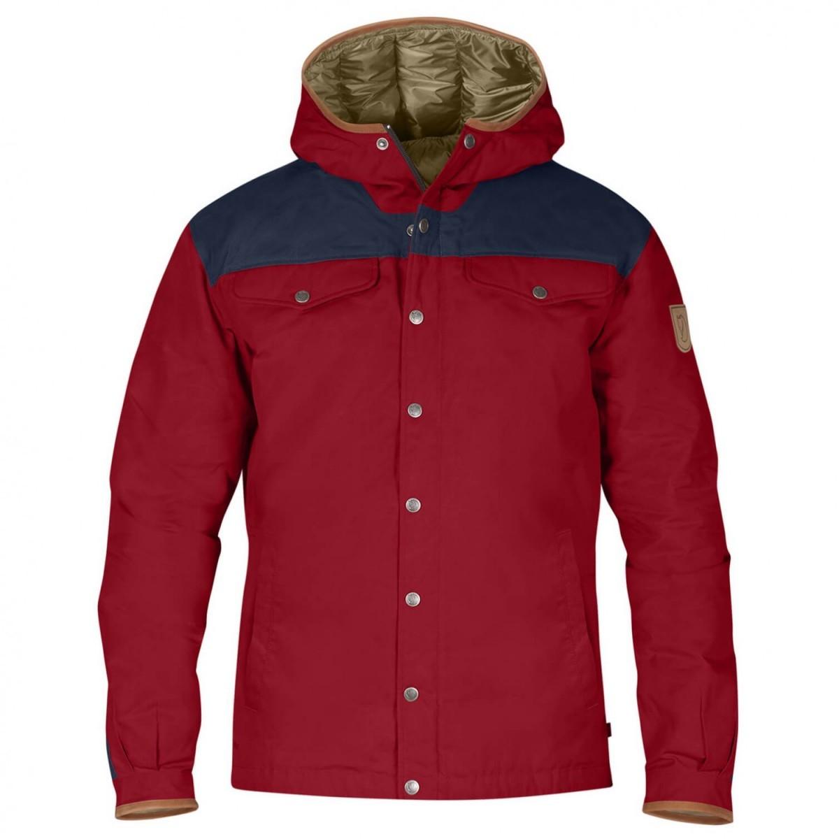 FJALLRAVEN フェールラーベン Greenland No.1 Down Jacket ダウンジャケット (Deep Red)