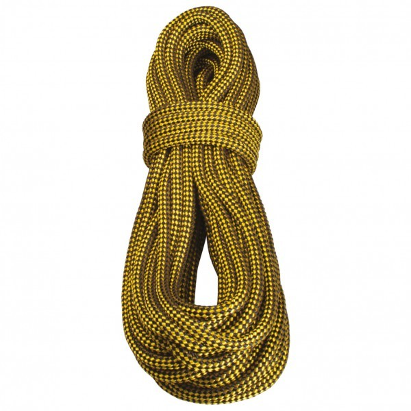 TENDON テンドン Lowering Rope 15(50m - Gelb / Schwarz)★ロープ・ザイル・登山・クライミング★