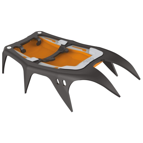 PETZL ペツル Sarken Front Sections(Black / Orange)★ウインターギア・アイゼン・クランポン・雪山装備★