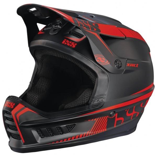 IXS イクス XACT Helmet(Black / Fluor Red)