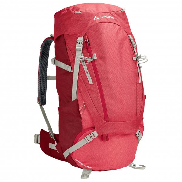 VAUDE ファウデ Asymmetric 48+8 レディース(Indian Red)★リュック・バックパック・登山・山歩・トレッキング★