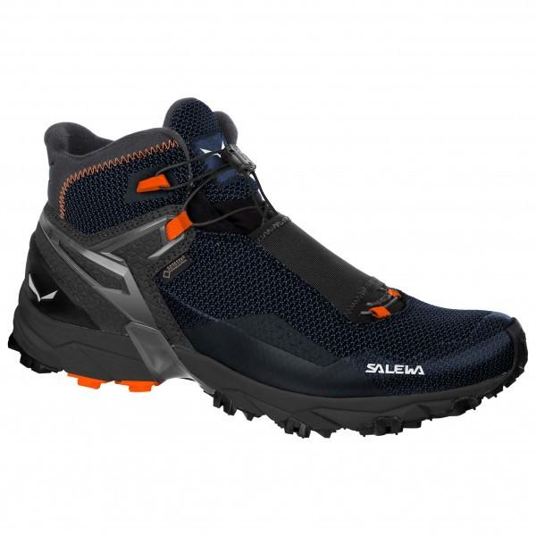 【 即納 】 SALEWA サレワ Ultra Flex Mid GTX ( Black / Holland ) ★ 登山靴 ・ 靴 ・ 登山 ・ アウトドアシューズ ・ 山歩き ★