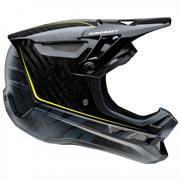 100% Aircraft DH Helmet incl. Mips(Raw Black)