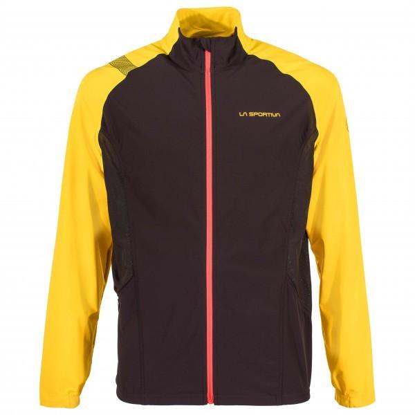 スポルティバ Blizzard Windbreaker Jacket ウィンドブレーカー(Black / Yellow)