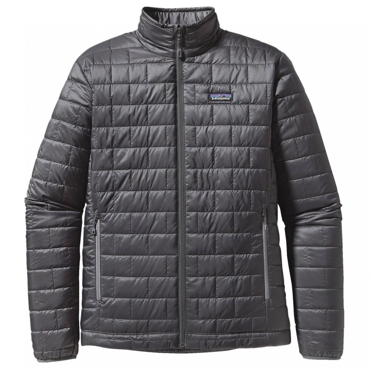 パタゴニア Nano Puff Jacket ジャケット(Forge Grey)