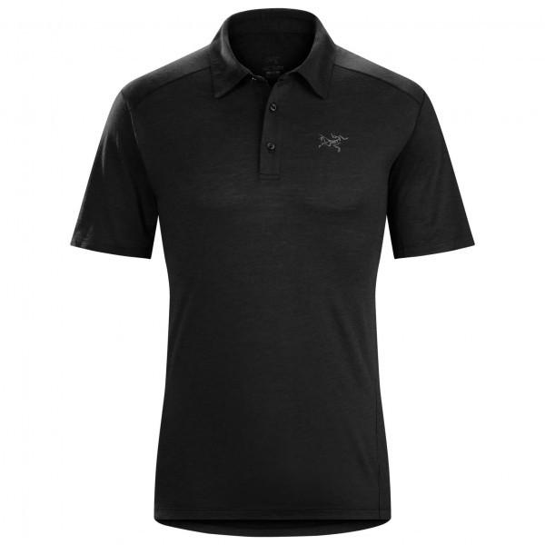 アークテリクス Pelion Polo ポロシャツ(Black)