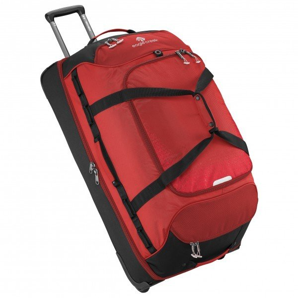 イーグルクリーク Expanse Drop Bottom Wheeled Duffel 32 129l ( Volcano Red )