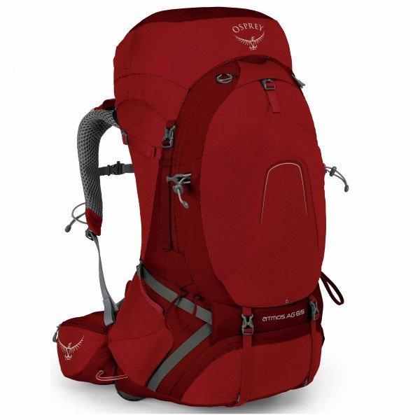 オスプレー Atmos AG 65(Rigby Red)