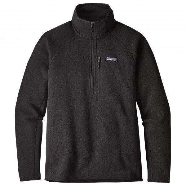 【 即納 】 パタゴニア Performance Better Sweater 1 / 4 Zip  メンズ( Black )