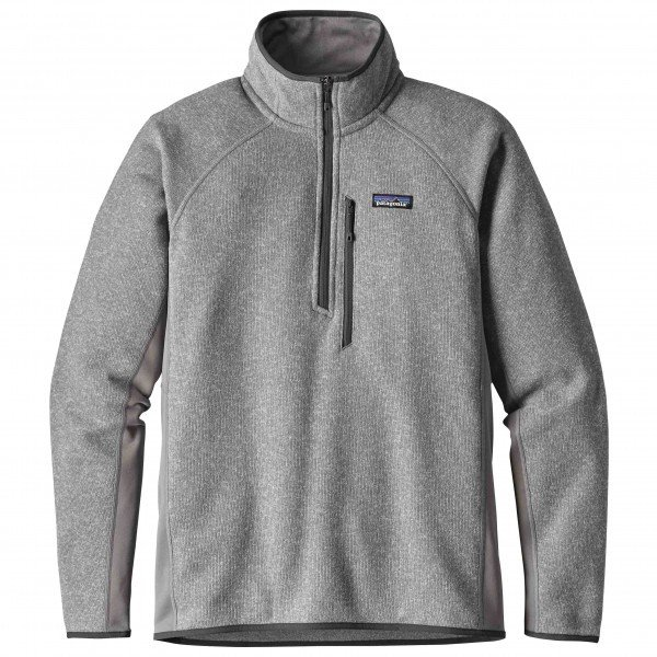 パタゴニア Performance Better Sweater 1/4 Zip (Feather Grey)