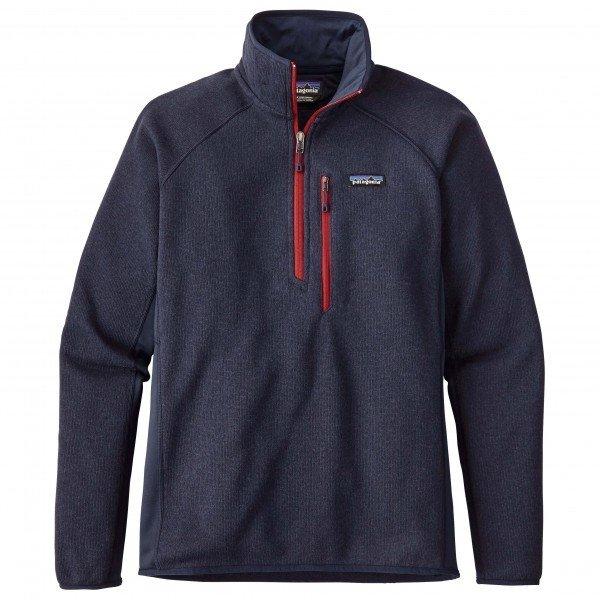 パタゴニア Performance Better Sweater 1/4 Zip (Navy Blue)