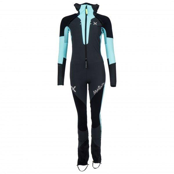モンチュラ Skisky Grade オーバーオール レディース(Piombo / Ice Blue)