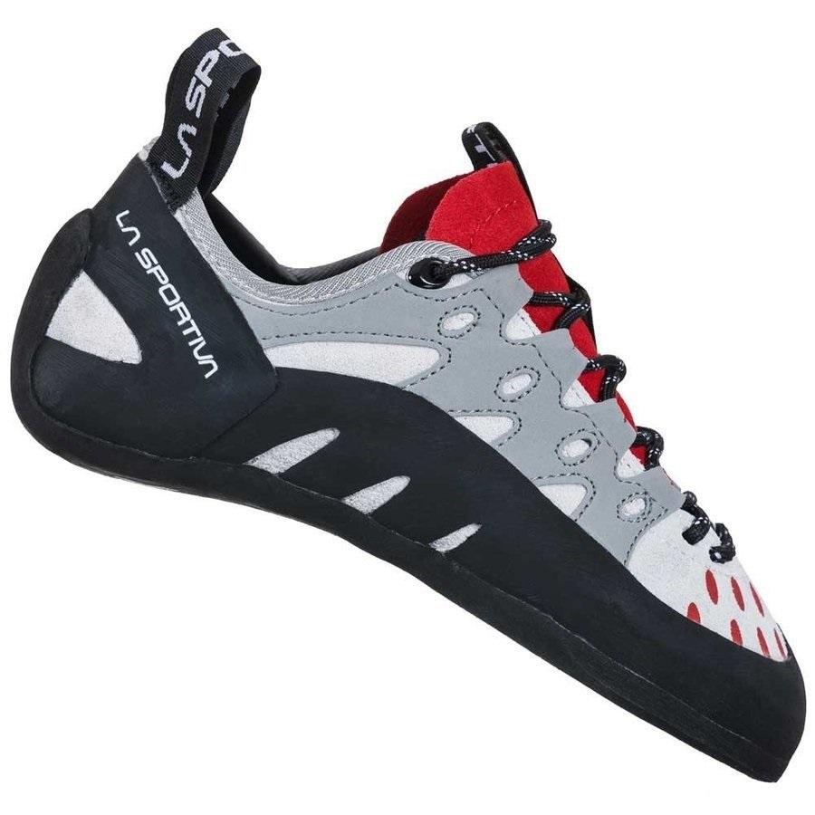 La 売買 Sportiva Tarantulace Climbing Shoe - Women's クライミング 即納 サイズ交換 返品不可 Hibiscus ロッククライミング 女性用 レース 超歓迎された タランチュラ スポルティバ Grey レディース ウーマン クライミングシューズ ボルダリングシューズ