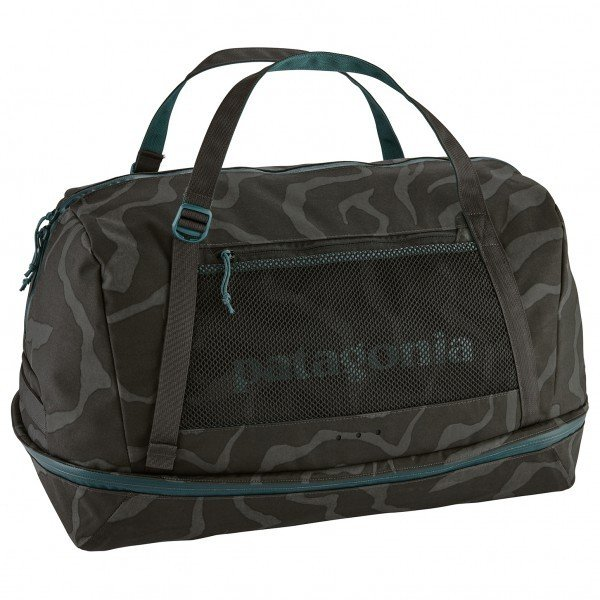 パタゴニア Planing Duffel Bag 55(Tiger Tracks Camo / Ink 黒)